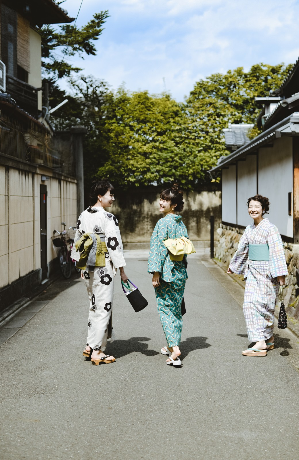haco! ひでや工房 京都の綿ちりめん浴衣 <ベージュ系その他>の商品写真30