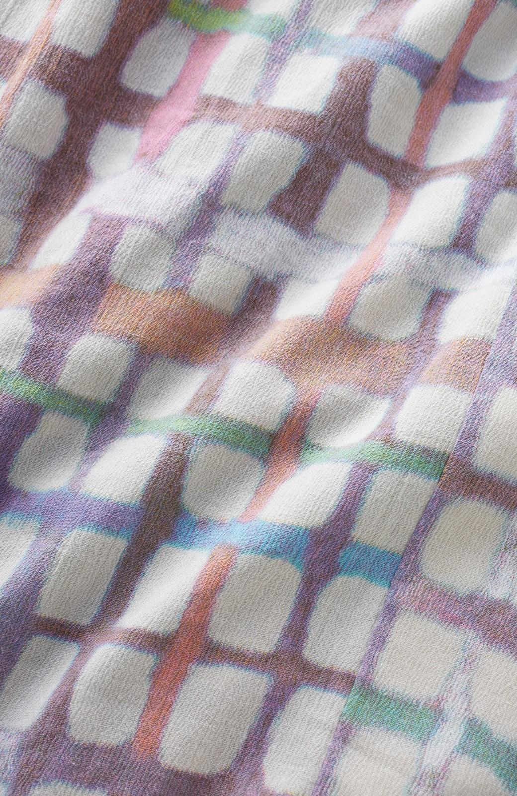haco! ひでや工房 京都の綿ちりめん浴衣 <ベージュ系その他>の商品写真3