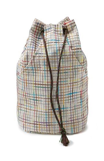 haco! ひでや工房 京都のポケット付き巾着 <カラフル>の商品写真