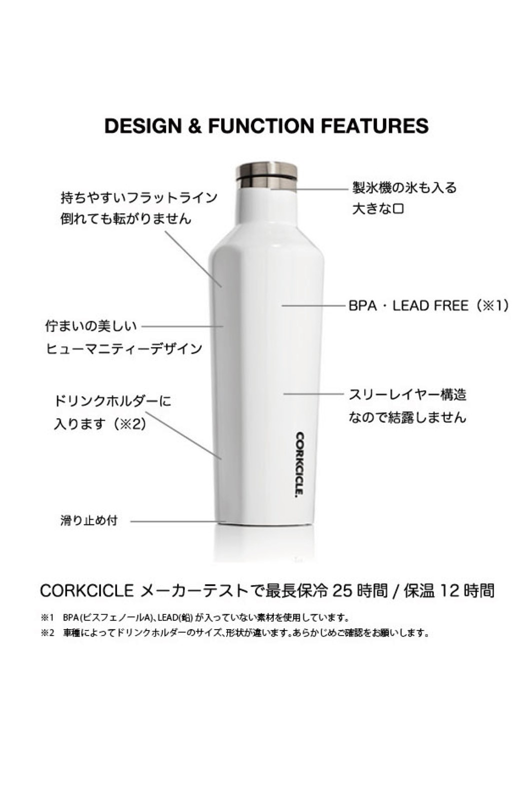 haco! CORKCICLE CANTEEN 16OZ/470ml  <マジェンタ>の商品写真4