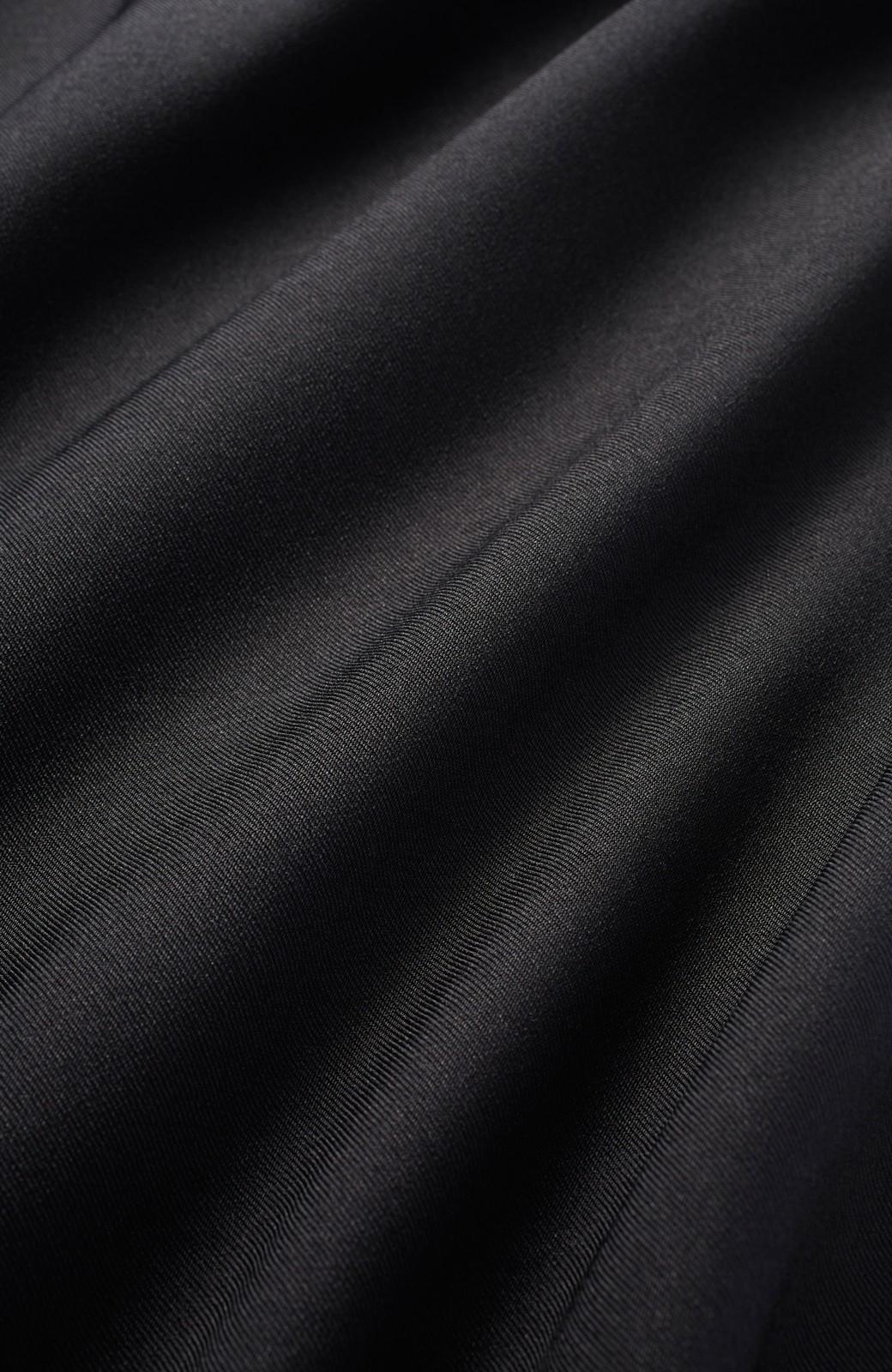 エムトロワ 女子ごころにちょうどいいティアードキャミオールインワン <ブラック>の商品写真2