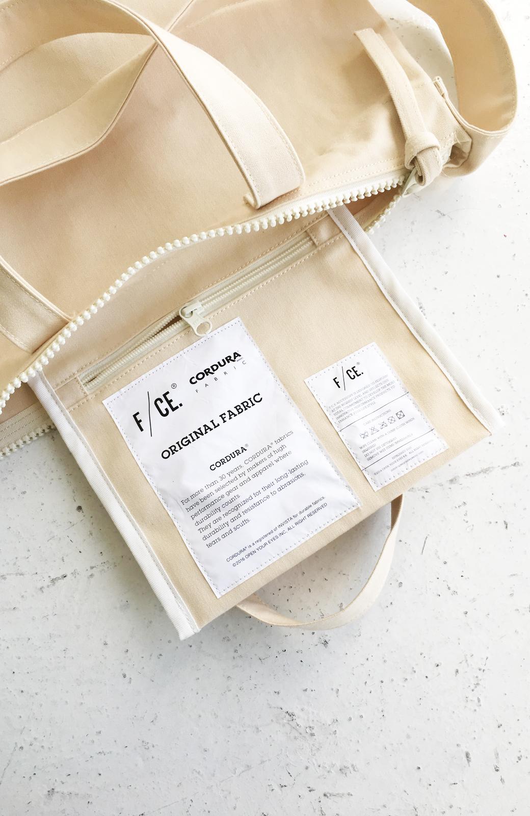 haco! F/CE.(エフシーイー)NO3 NEWS PAPER BAG <アイボリー>の商品写真6