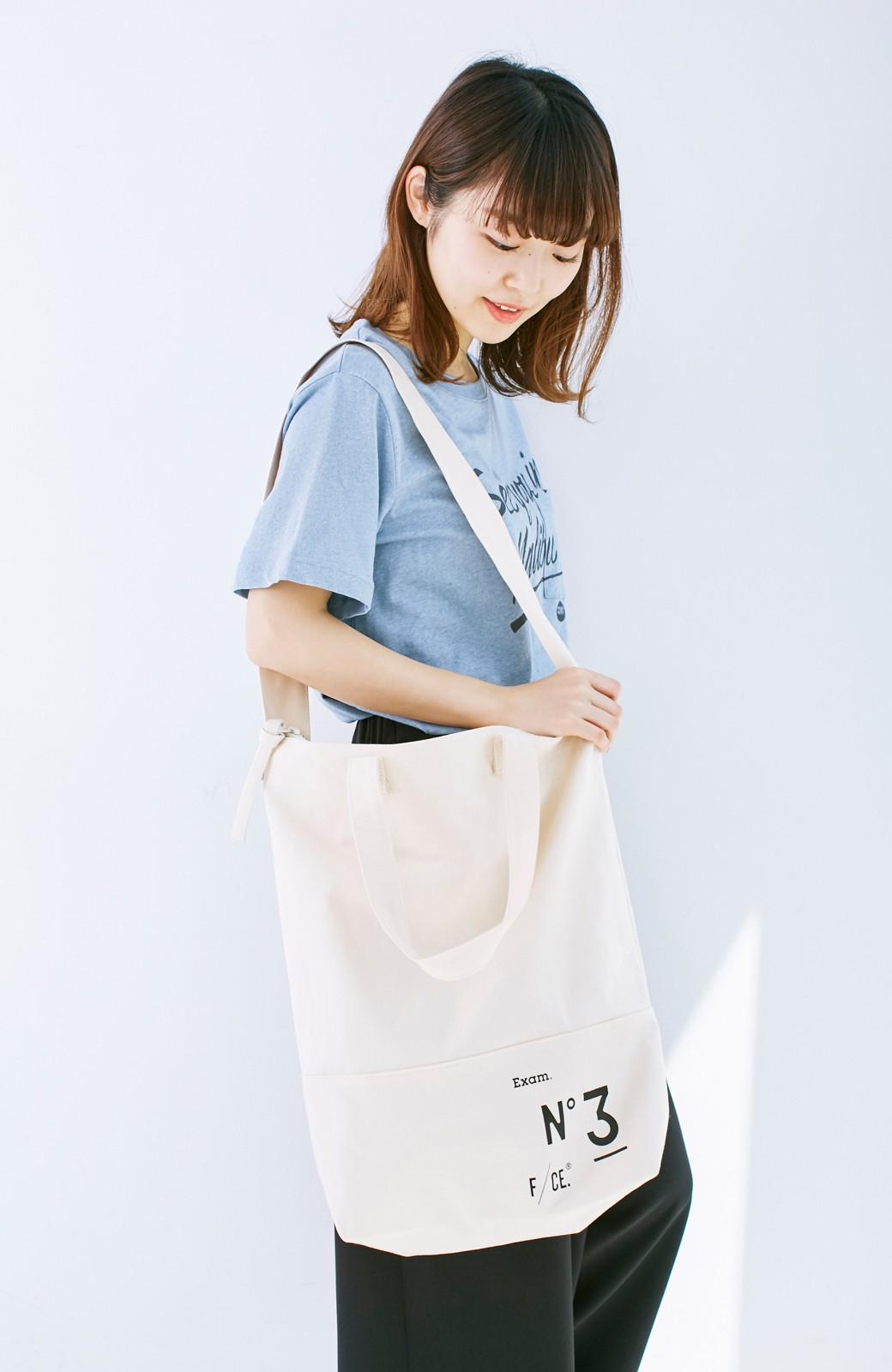 haco! F/CE.(エフシーイー)NO3 NEWS PAPER BAG <アイボリー>の商品写真9