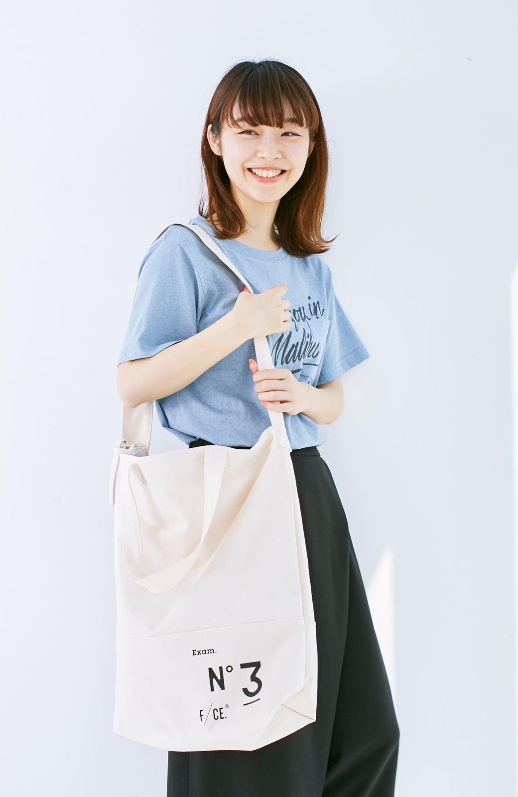 haco! F/CE.(エフシーイー)NO3 NEWS PAPER BAG <アイボリー>の商品写真10