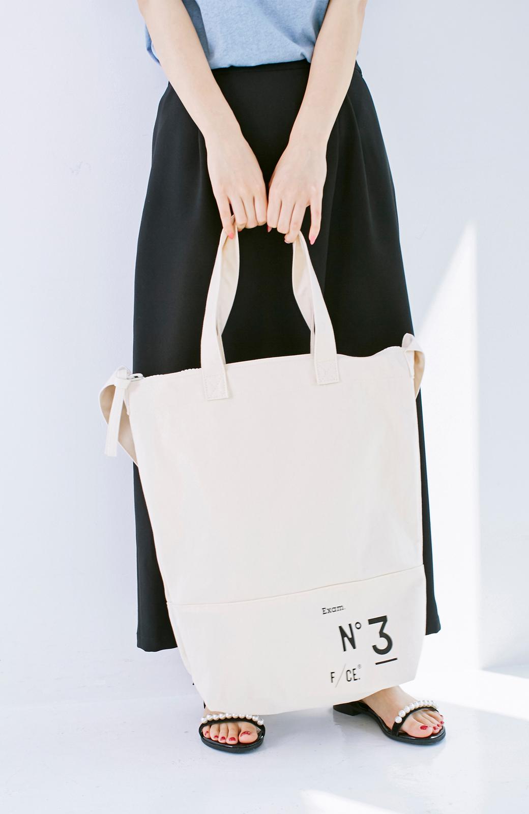 haco! F/CE.(エフシーイー)NO3 NEWS PAPER BAG <アイボリー>の商品写真11