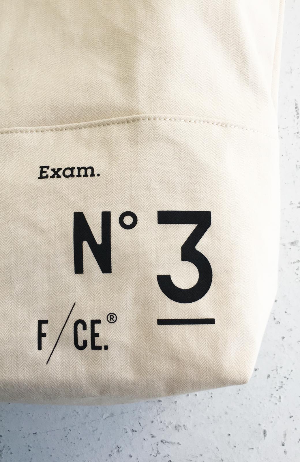 haco! F/CE.(エフシーイー)NO3 NEWS PAPER BAG <アイボリー>の商品写真8