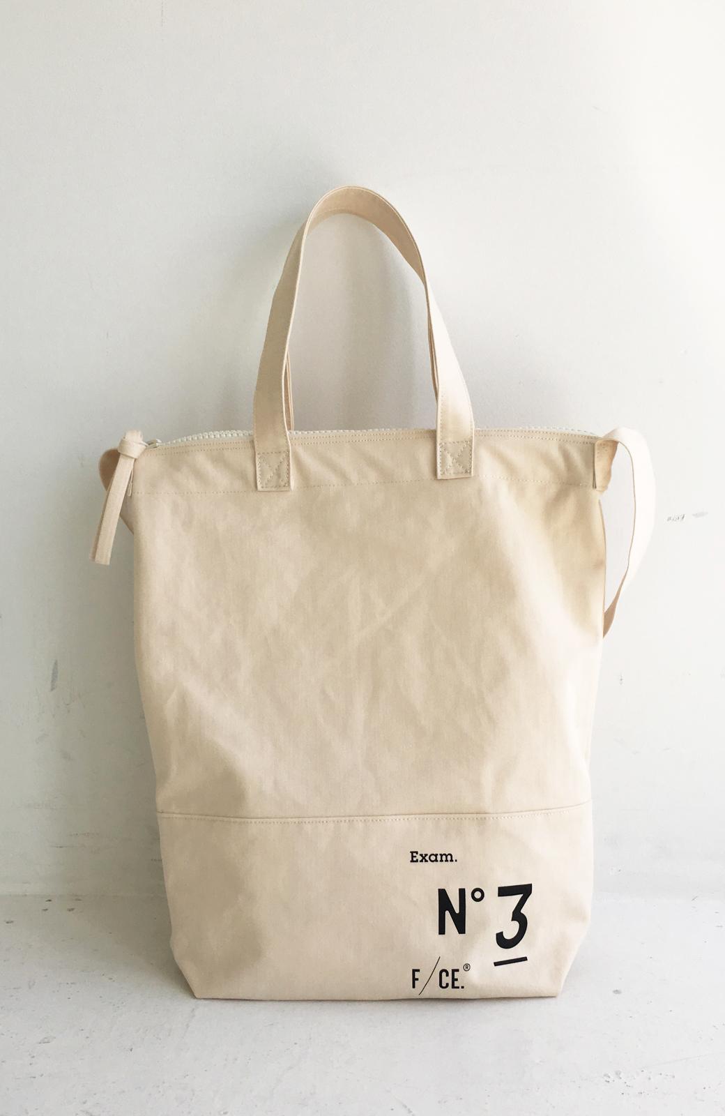 haco! F/CE.(エフシーイー)NO3 NEWS PAPER BAG <アイボリー>の商品写真1