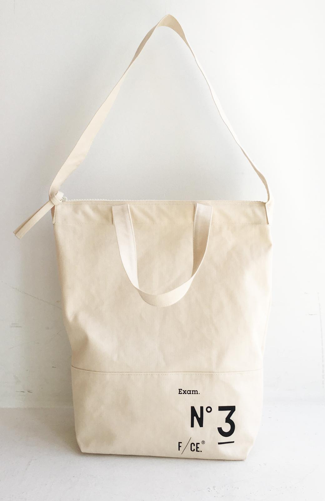 haco! F/CE.(エフシーイー)NO3 NEWS PAPER BAG <アイボリー>の商品写真3