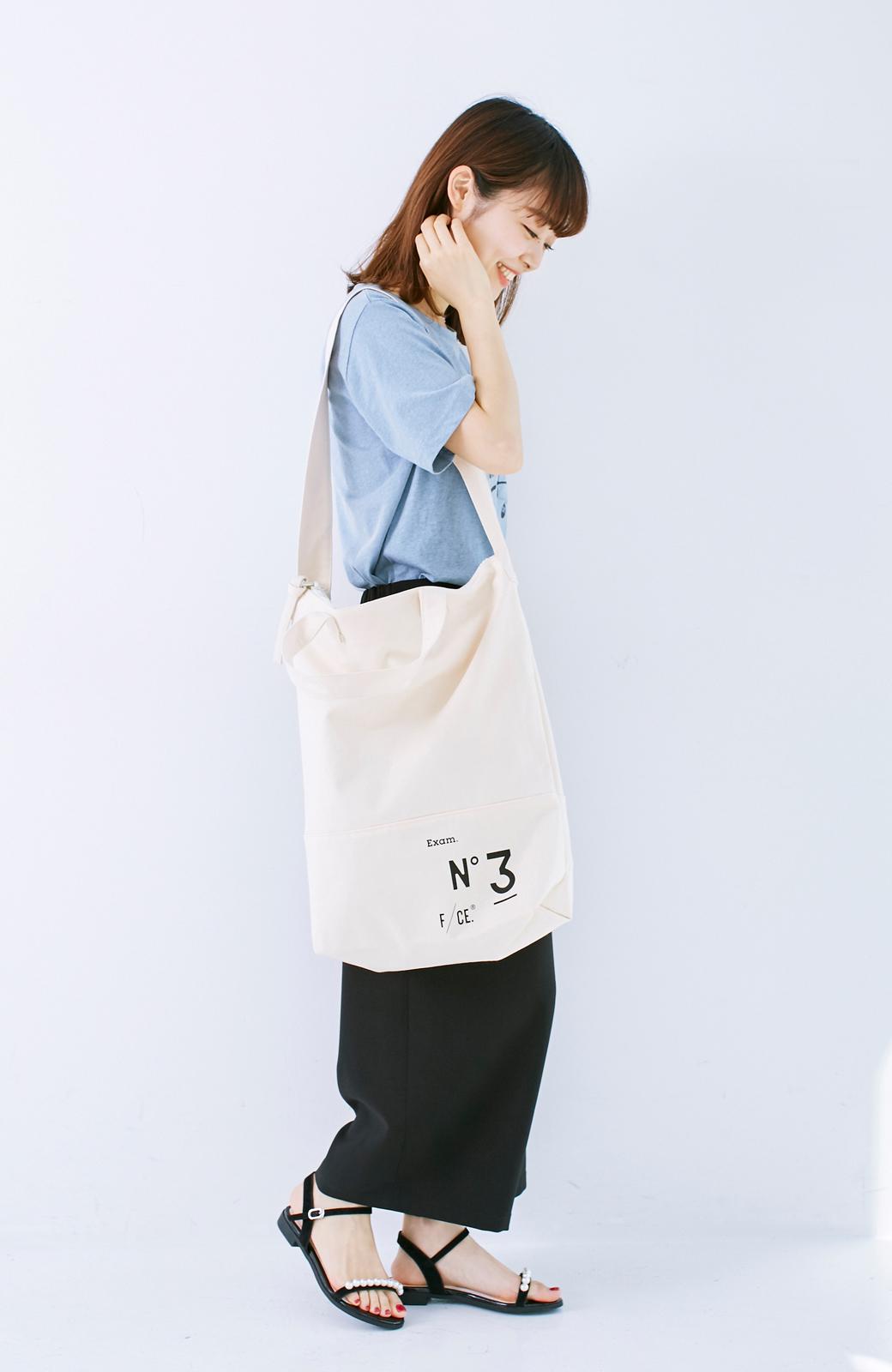 haco! F/CE.(エフシーイー)NO3 NEWS PAPER BAG <アイボリー>の商品写真12