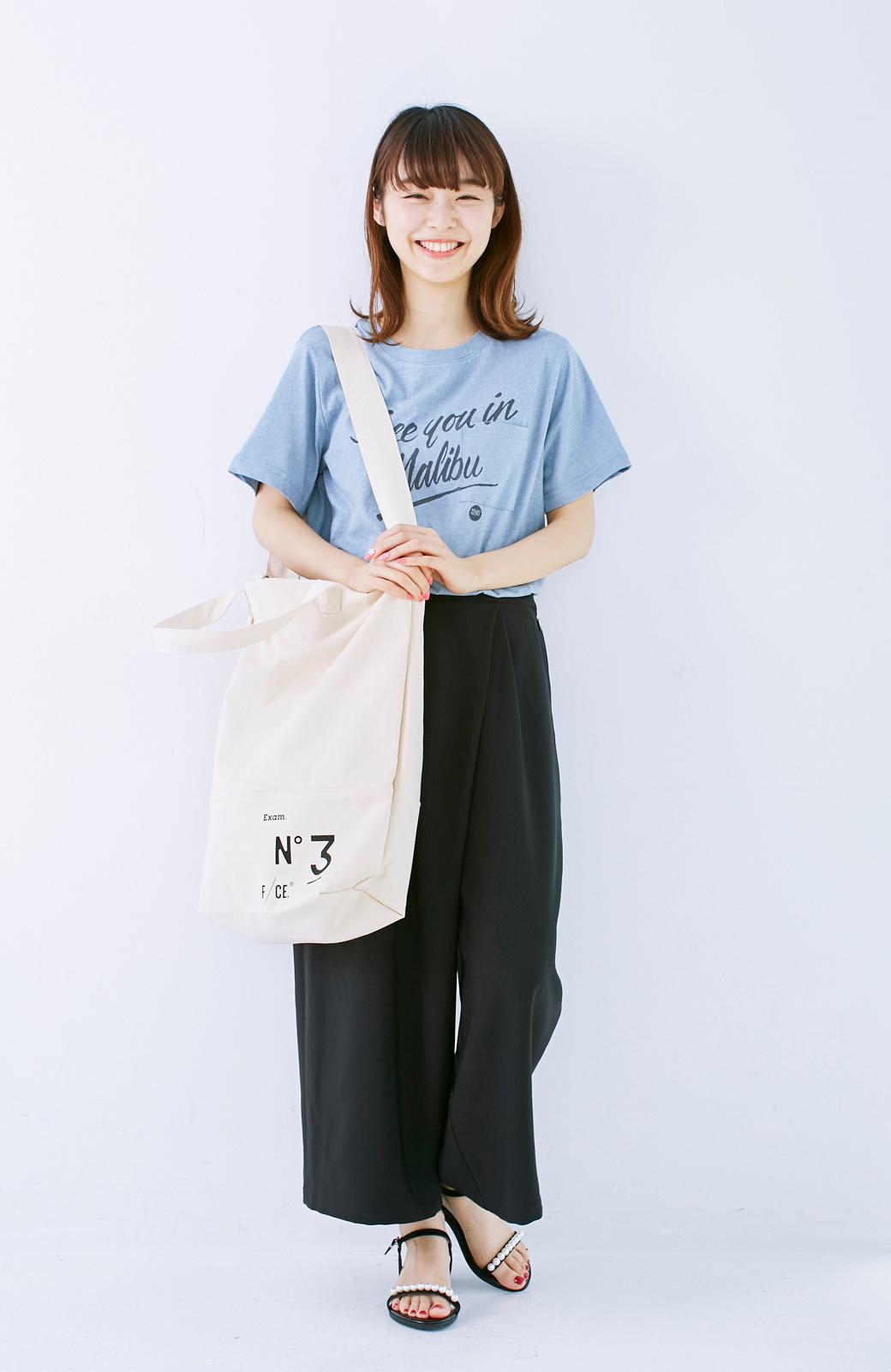 haco! F/CE.(エフシーイー)NO3 NEWS PAPER BAG <アイボリー>の商品写真14