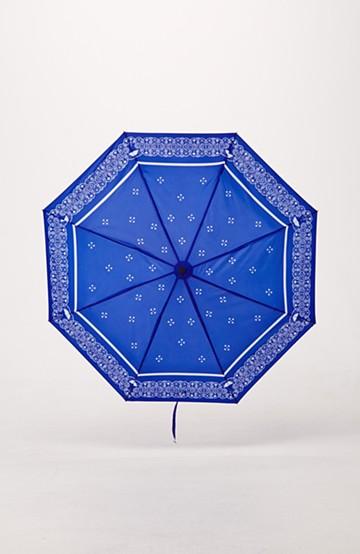 haco! 折りたたみ傘 <ブルー>の商品写真