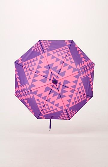 haco! 折りたたみ傘 <パープル系その他>の商品写真