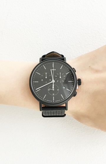 haco! Weekender Fairfield Chronograph41mm  <ブラック>の商品写真