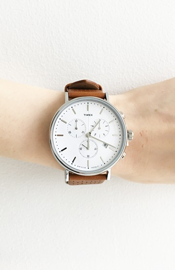 haco! Weekender Fairfield Chronograph41mm  <タン>の商品写真