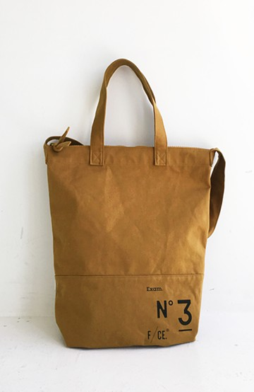 haco! NO3 NEWS PAPER BAG <ブラウン>の商品写真