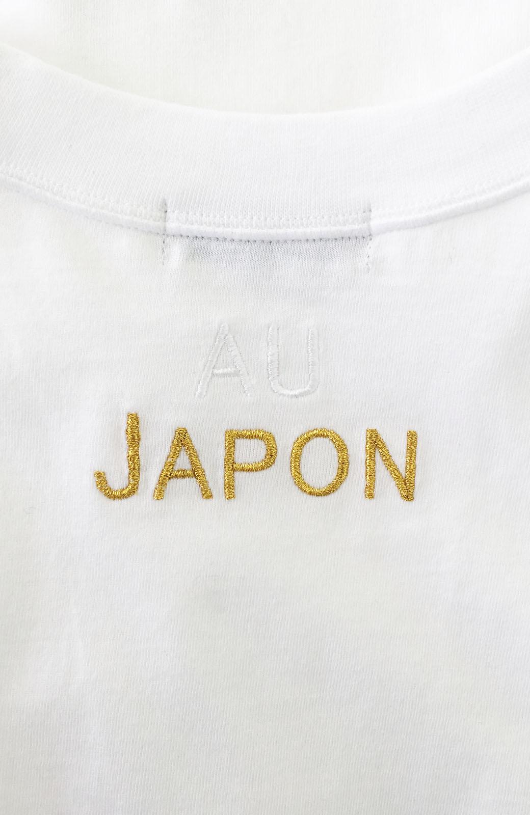 haco! てとひとて KANA MATSUNAMI チャリティーTシャツ <japon> <ホワイト>の商品写真5