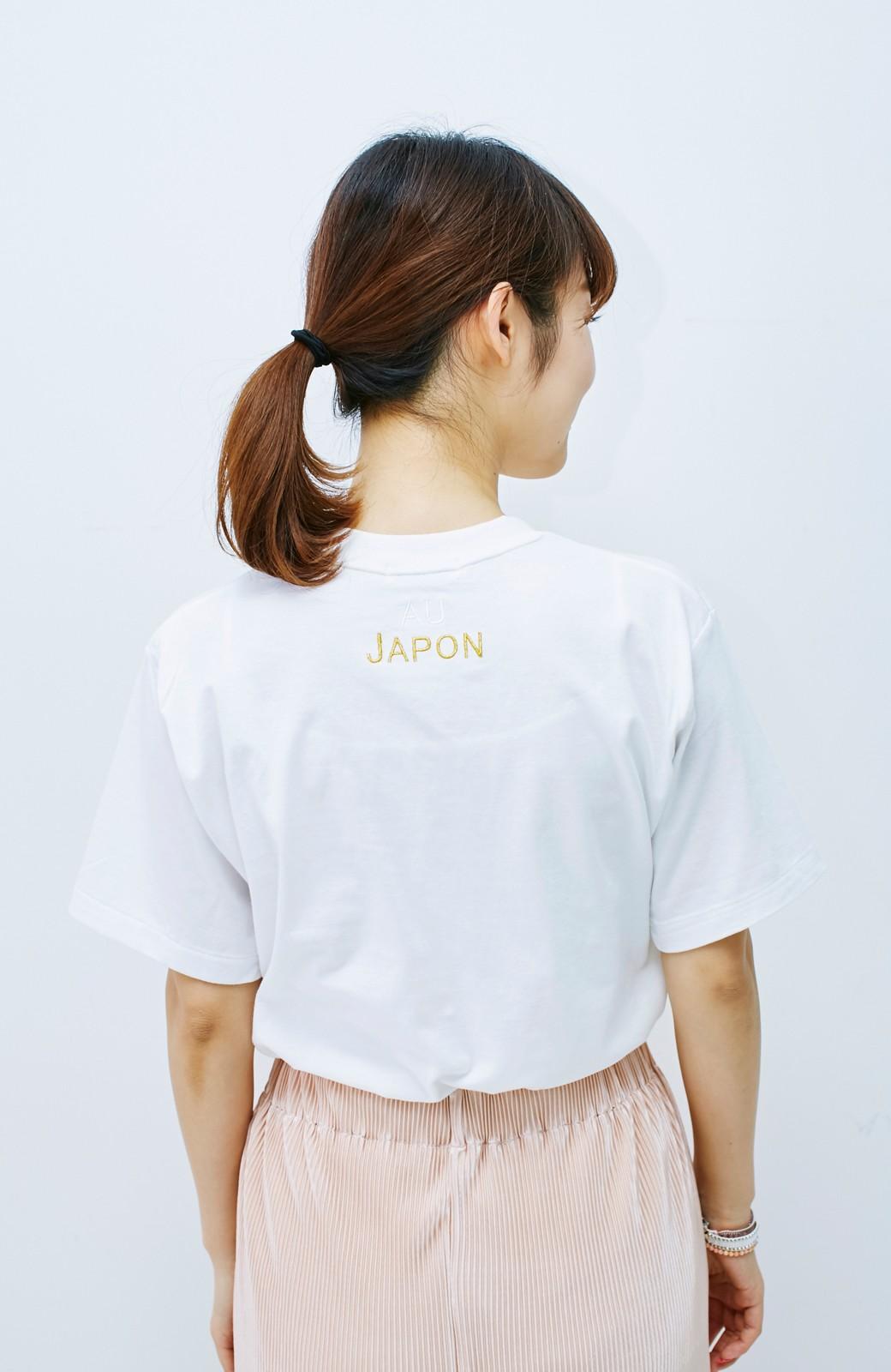 haco! てとひとて KANA MATSUNAMI チャリティーTシャツ <japon> <ホワイト>の商品写真8