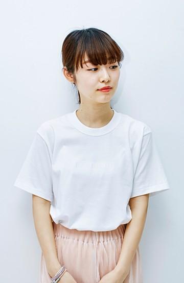haco! てとひとて KANA MATSUNAMI チャリティーTシャツ <japon> <ホワイト>の商品写真
