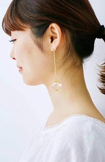 haco! てとひとて KANA MATSUNAMI シャンパンシリーズ ピアス <ゴールド>の商品写真