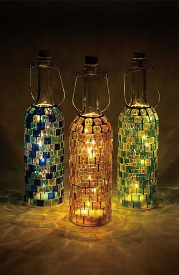 haco! モザイクボトル LEDライトBLOCK <その他>の商品写真
