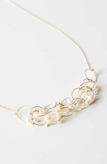 haco! てとひとて asumi bijoux petalネックレス <ゴールド>の商品写真