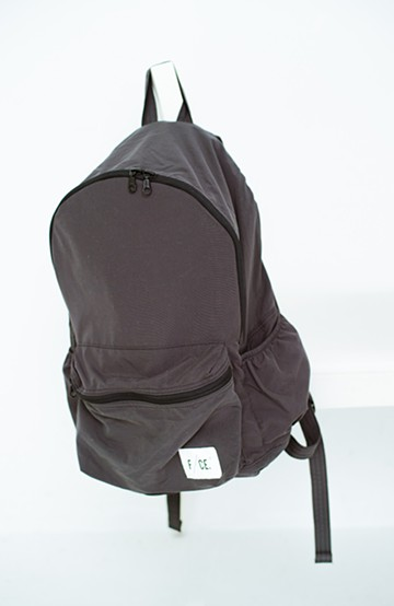 haco! F/CE. WASH NYLON PACKABLE DAY PACK   <ブラック>の商品写真