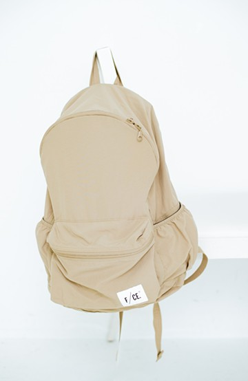 haco! F/CE. WASH NYLON PACKABLE DAY PACK   <ベージュ>の商品写真