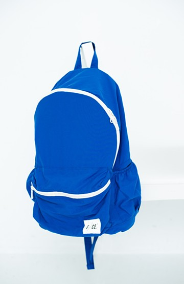 haco! F/CE. WASH NYLON PACKABLE DAY PACK   <ブルー>の商品写真