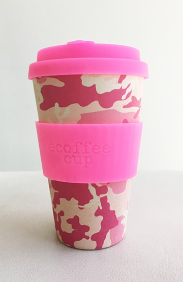 haco! ecoffee cup <ピンク>の商品写真