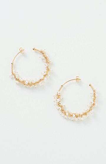 haco! てとひとて asumi bijoux shirotsumekusa mini ピアス&イヤリング <ゴールド>の商品写真