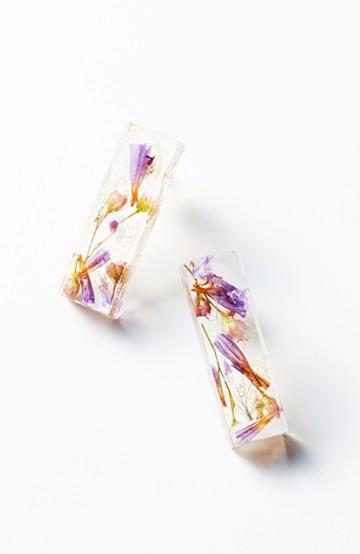 haco! てとひとて Lueur DRESS SHIKAKU M ピアス <ブルー系その他>の商品写真