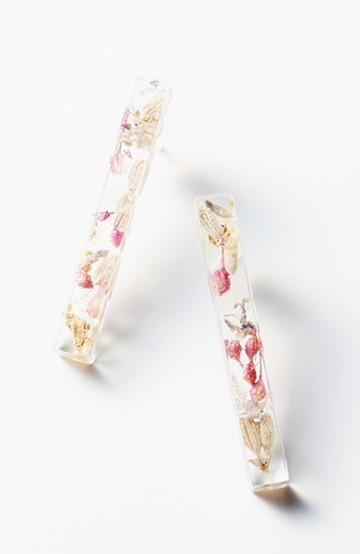 haco! てとひとて Lueur DRESS SHIKAKU L ピアス <ピンク系その他>の商品写真