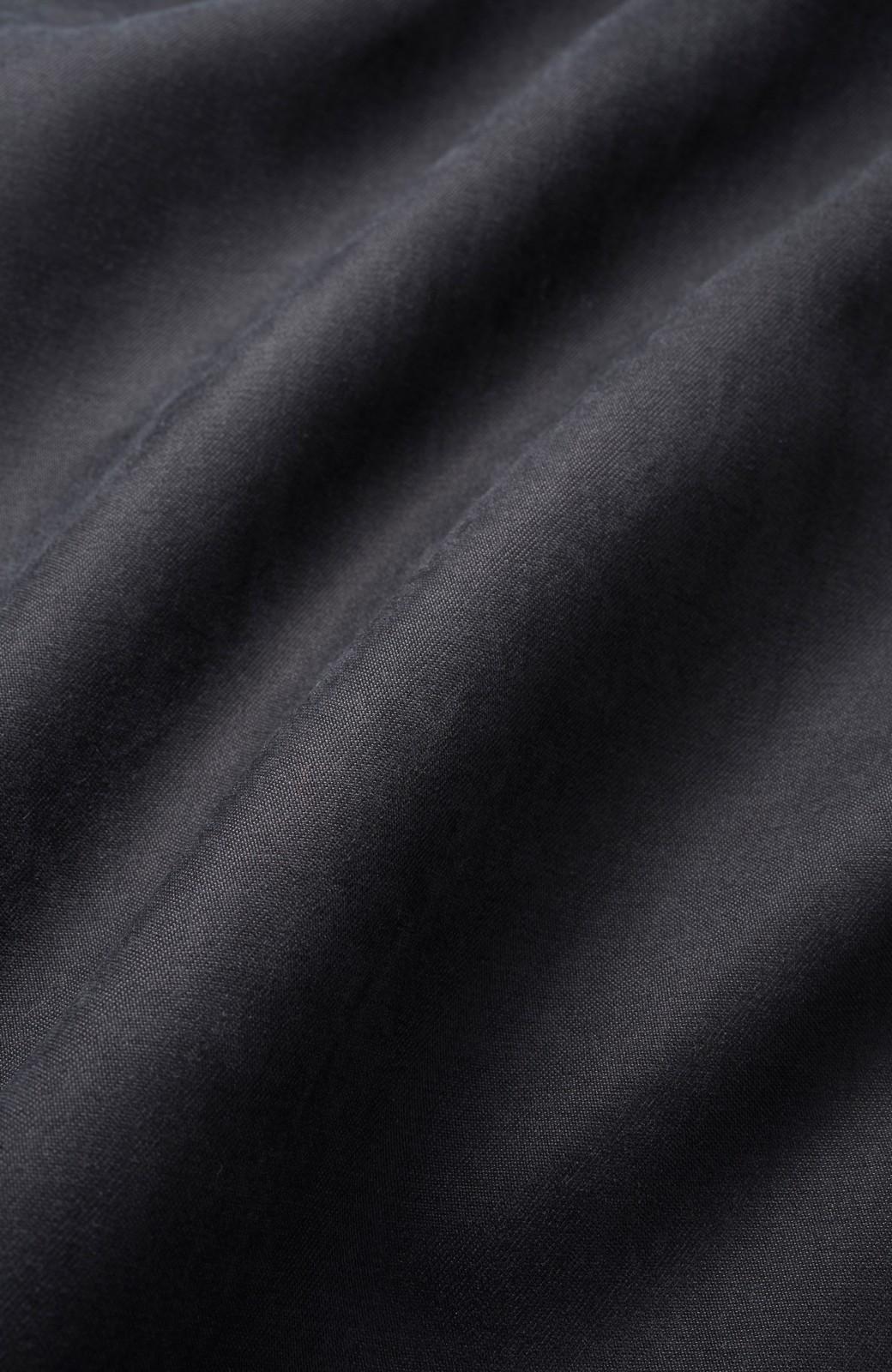 haco! 着るだけで女っぽく見える&後ろ前どちらも着られる ウエストリボンワンピース <ブラック>の商品写真2