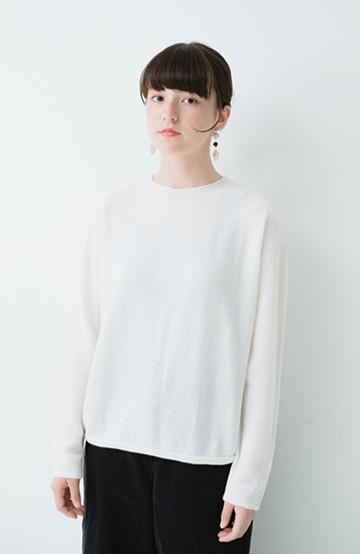 haco! てとひとて miho umezawa ホールガーメント ライトニット <ホワイト>の商品写真