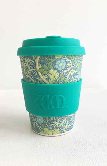 haco! ecoffee cup WILLIAM MORRIS 12oz <エメラルド>の商品写真