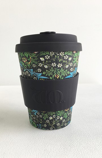 haco! ecoffee cup WILLIAM MORRIS 12oz <ブラック系その他>の商品写真
