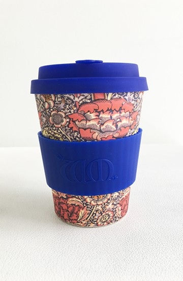 haco! ecoffee cup WILLIAM MORRIS 12oz <ロイヤルブルー>の商品写真