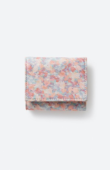 haco! UNICOLART OTUKI Syuhei [ぼくのすきなチューリップ] 小物にこそ柄を取り入れたい! がばっと開いて小銭も取り出しやすい手のひら財布 <ピンク系その他>の商品写真