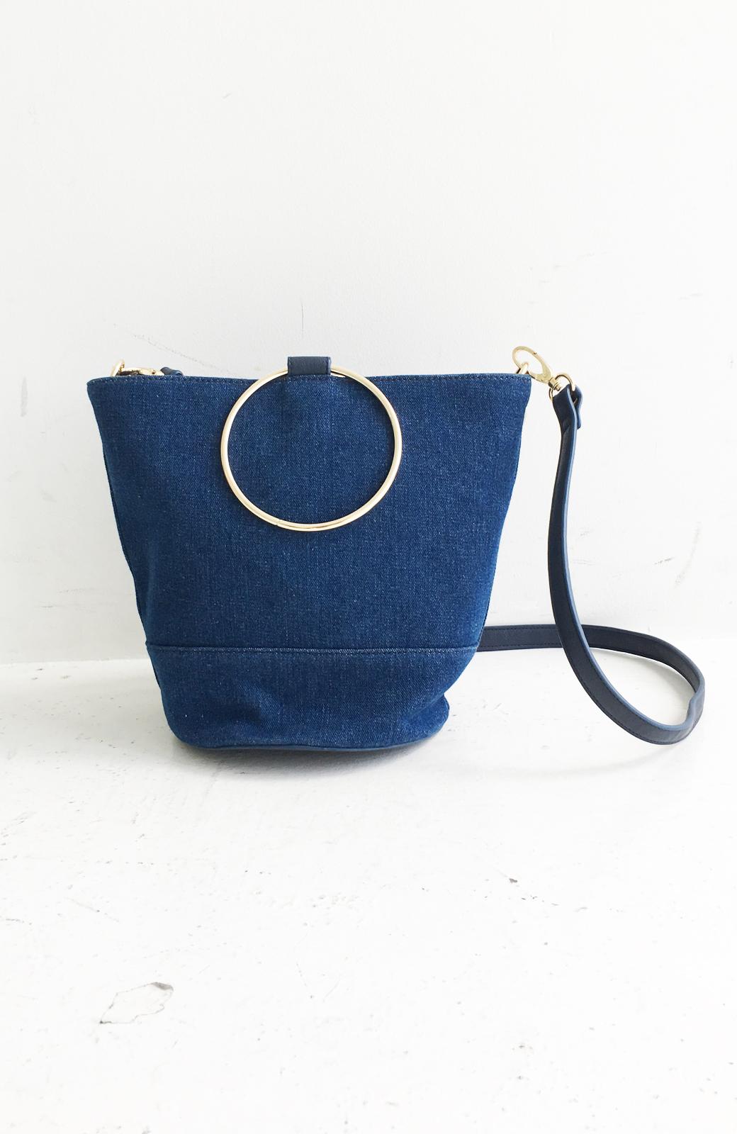 haco! リングバケツ型バッグ <ブルー>の商品写真2