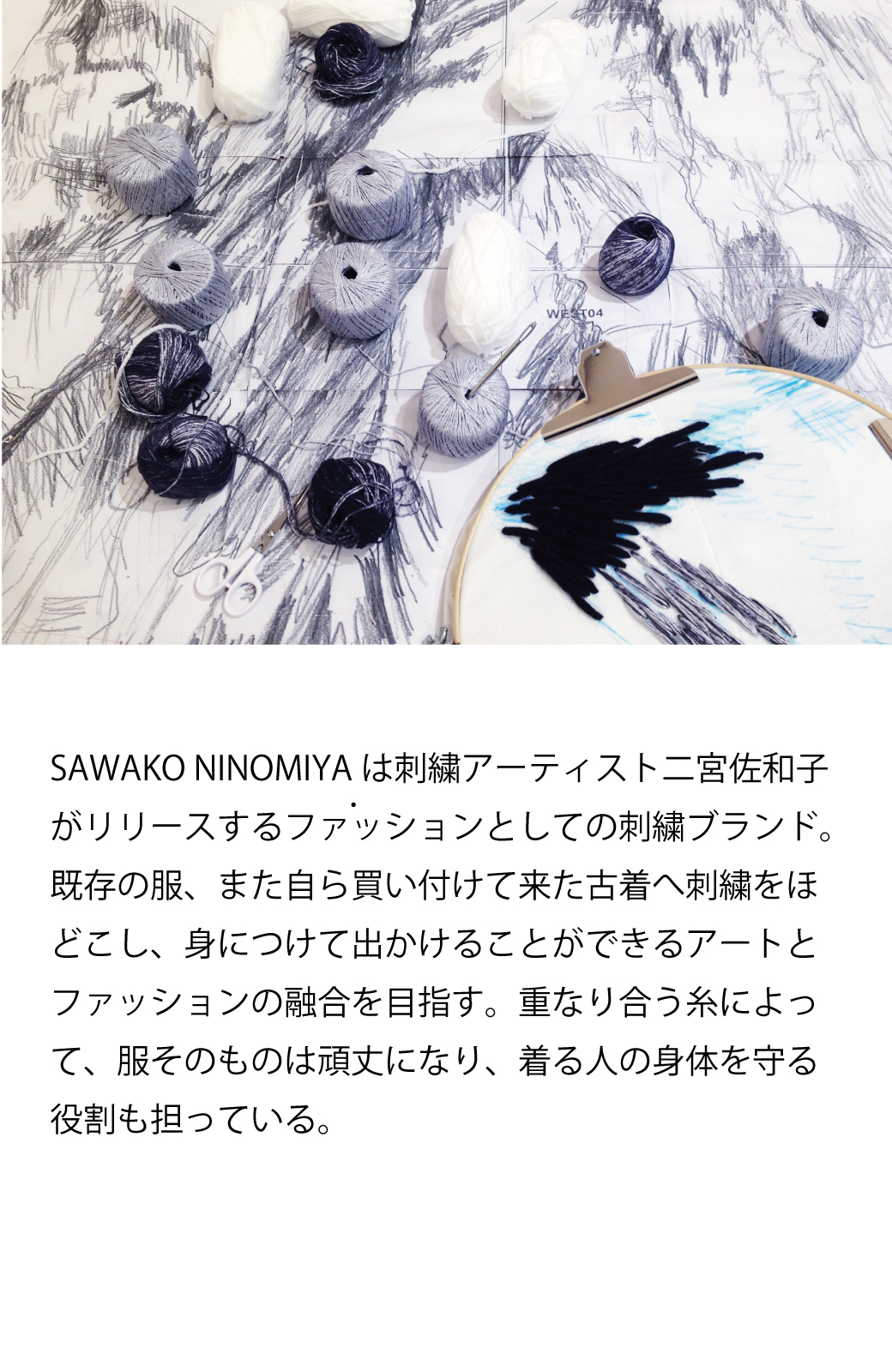 haco! てとひとて SAWAKO NINOMIYA Mt.Everest ピアス <ブルー>の商品写真5