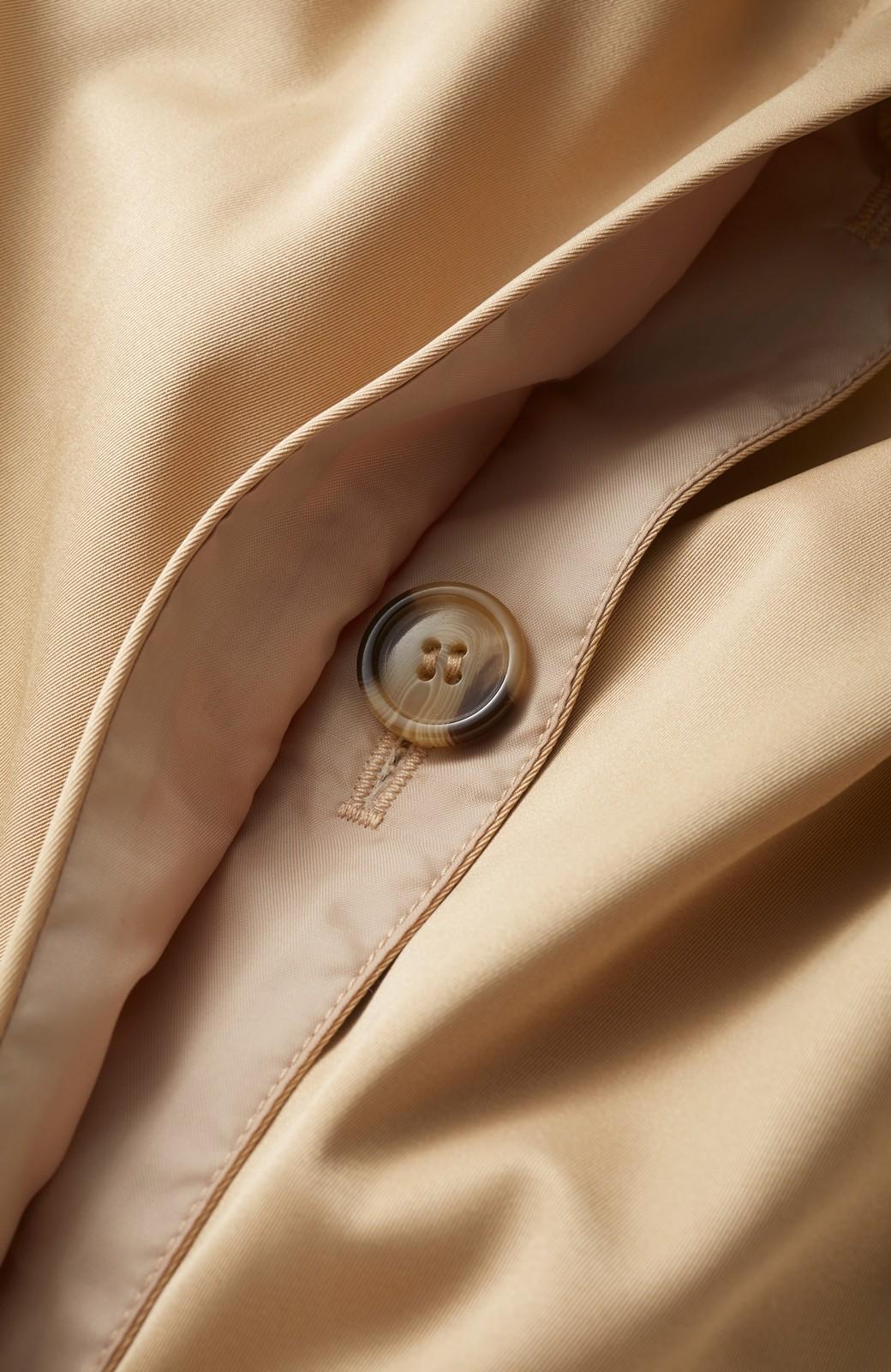 haco! ギャザースリーブがかわいい ステンカラーコート <ベージュ>の商品写真3