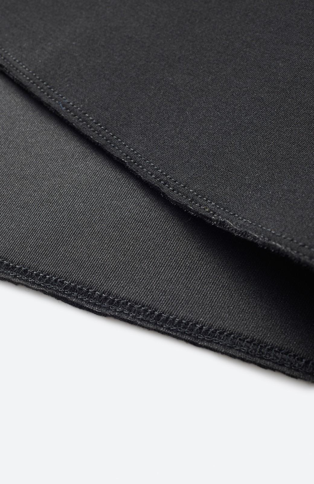 haco! ふんわり感がレトロ可愛い フレアージャンパースカート <ブラック>の商品写真3