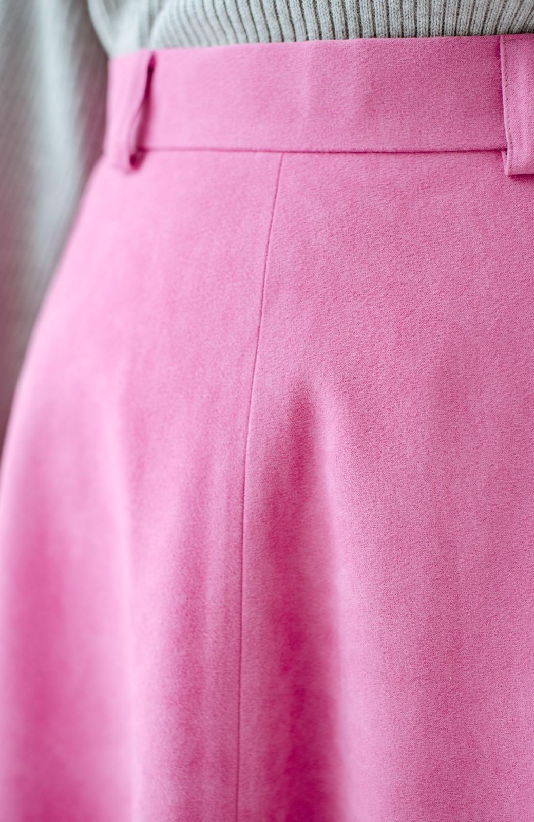 haco! 女っぽく上品に見える フレアースカート by que made me <ピンク>の商品写真7