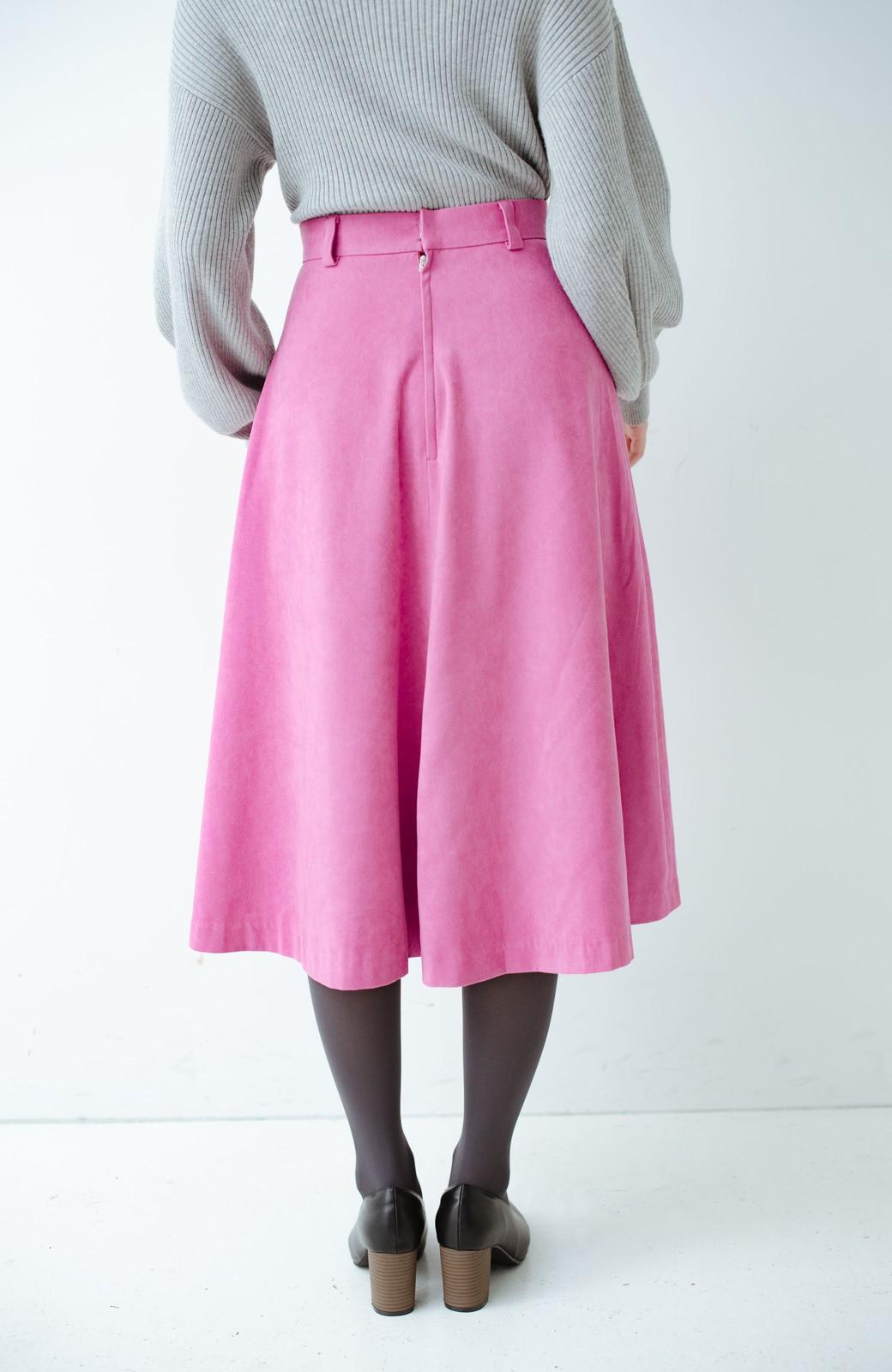 haco! 女っぽく上品に見える フレアースカート by que made me <ピンク>の商品写真4