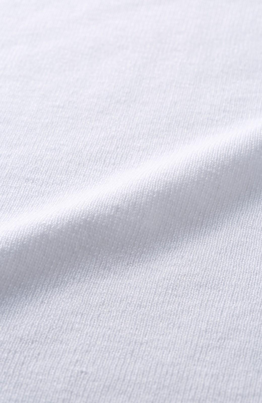 エムトロワ シルク混のロングニットジレ <ホワイト>の商品写真4