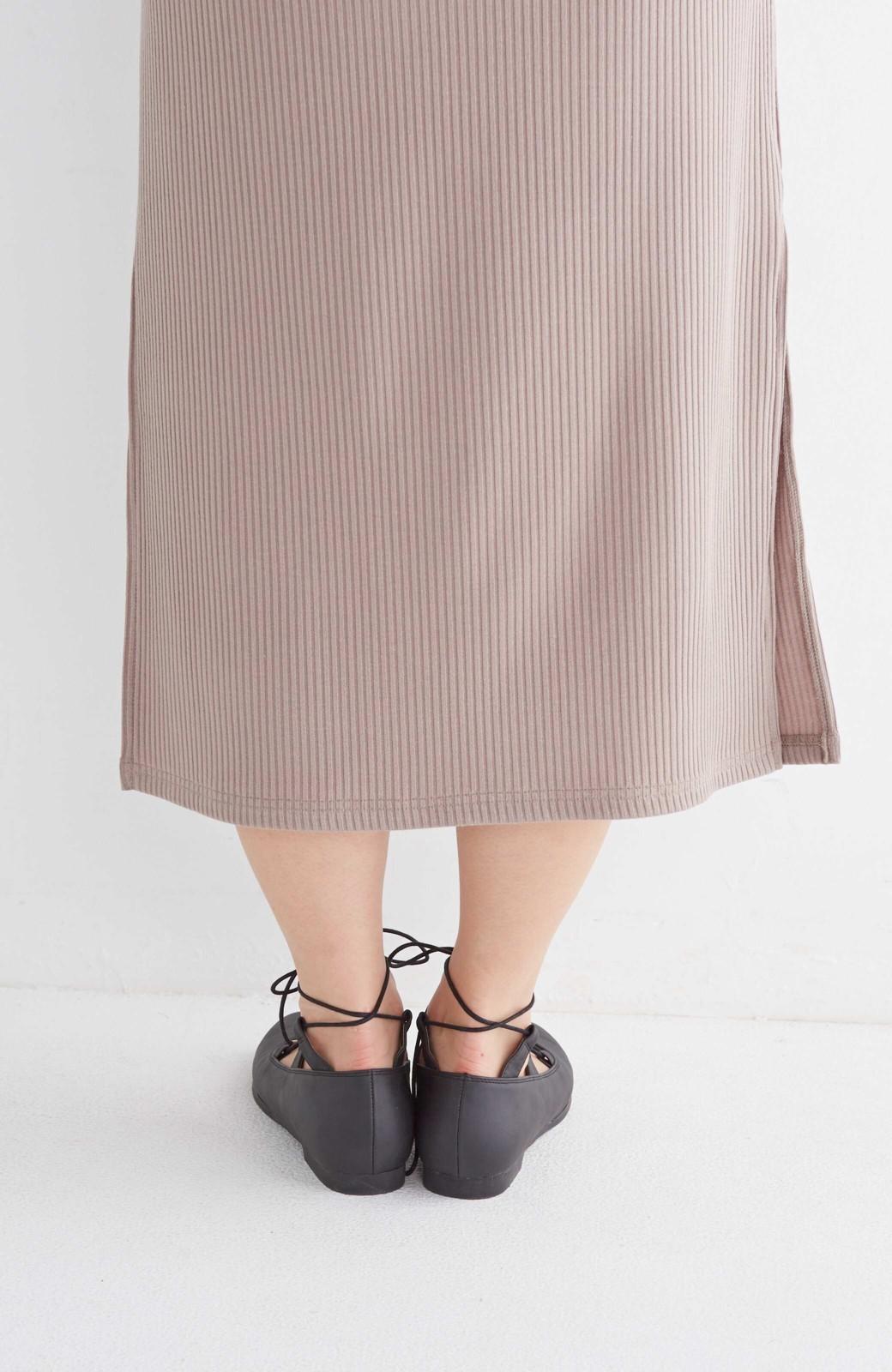 nusy 足もとポイントの編み上げパンプス <ブラック>の商品写真5