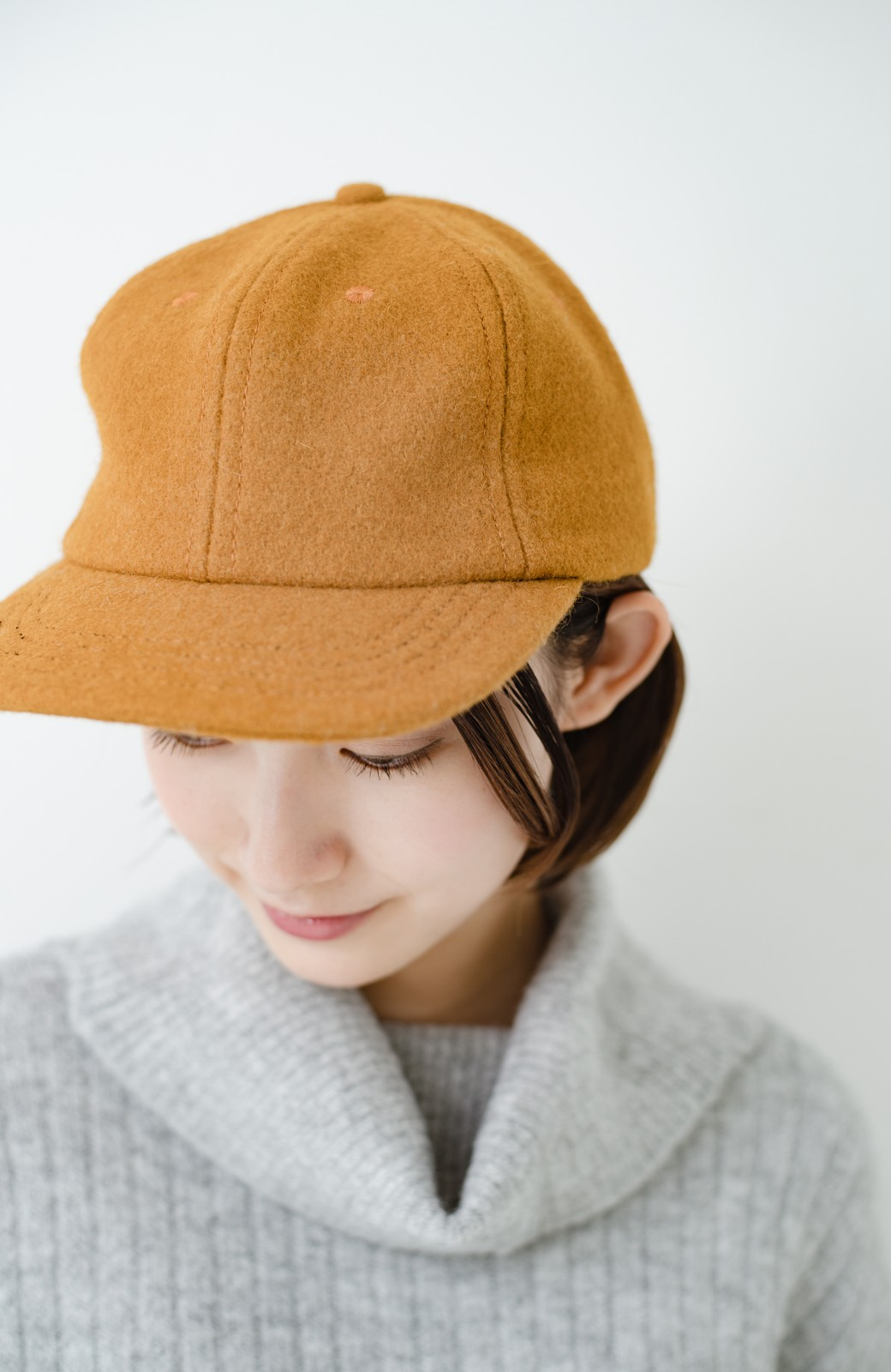 haco! SUBLIME US B.B CAP(SHORT BRIM) <マスタード>の商品写真2