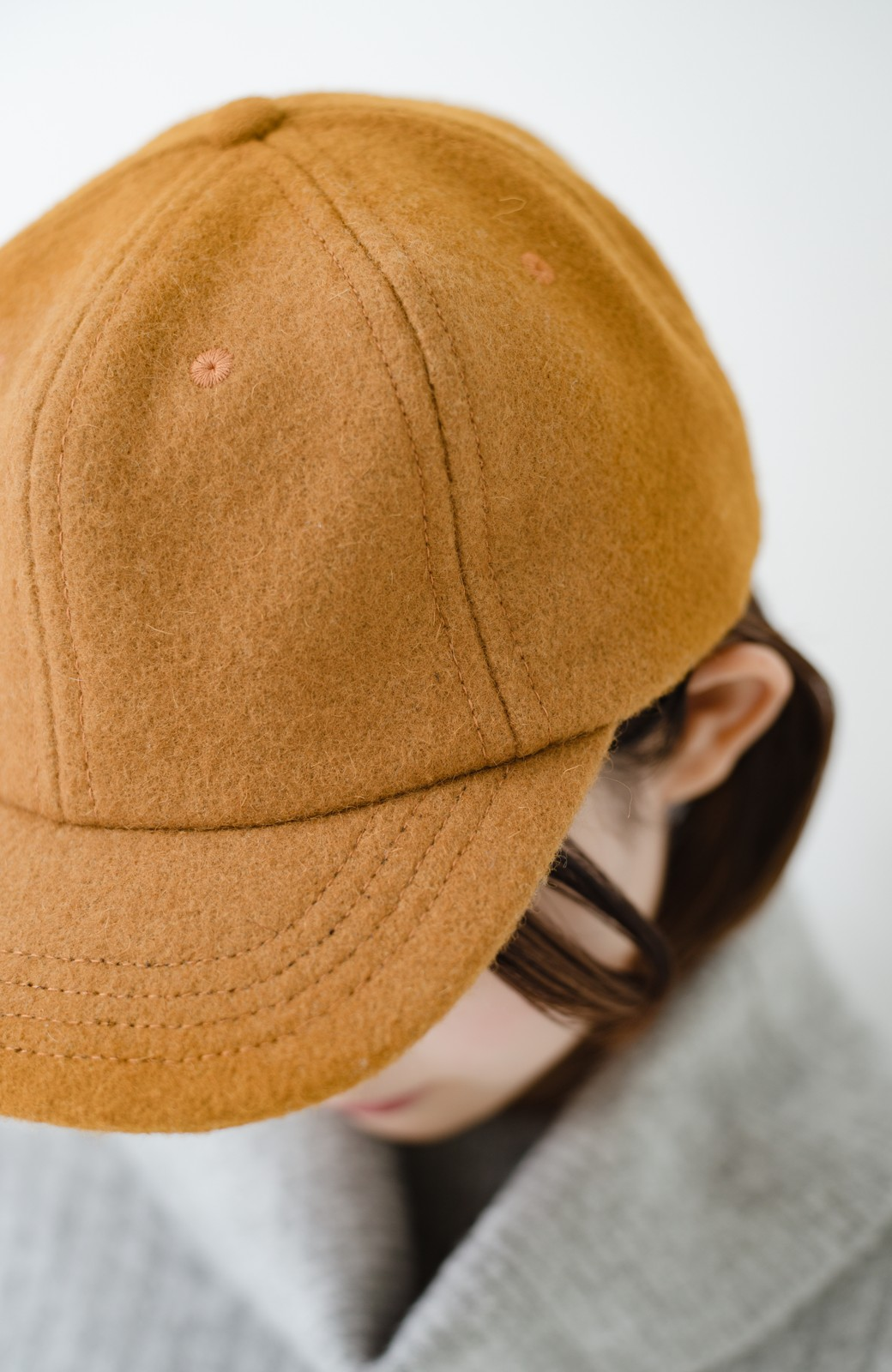 haco! SUBLIME US B.B CAP(SHORT BRIM) <マスタード>の商品写真3