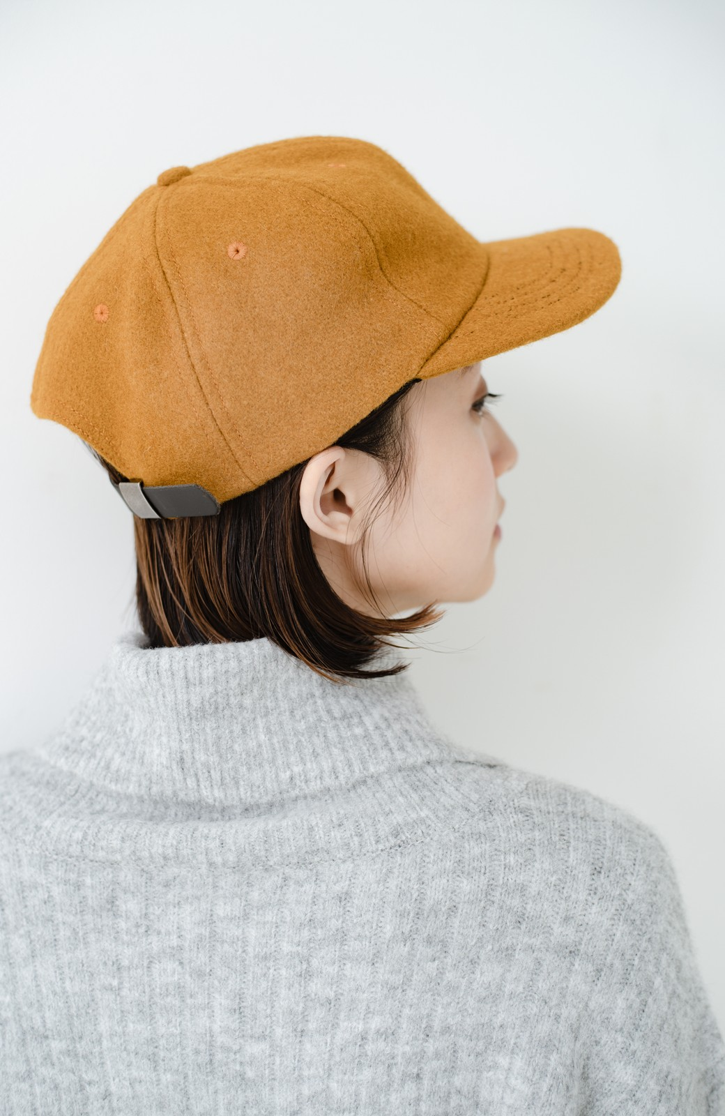 haco! SUBLIME US B.B CAP(SHORT BRIM) <マスタード>の商品写真4