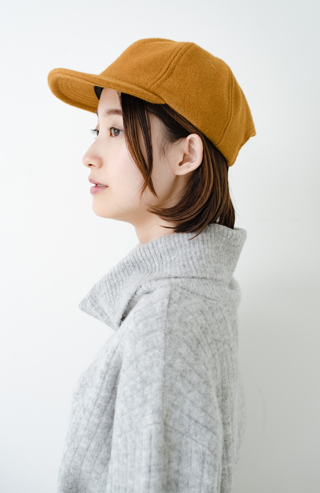 haco! SUBLIME US B.B CAP(SHORT BRIM) <マスタード>の商品写真1